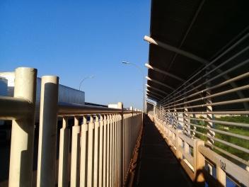 Ponte da Amizade entardecer. Photo By: Lucas Rocha